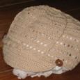 編み物 サマーニットのキャスケット